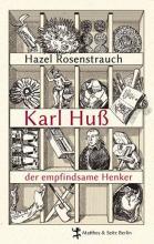 """Titelblatt des buches """"Der empfindsame Henker"""" regal mit sammelsurium"""